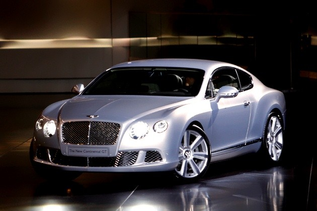 2011 Bentley Continental GT live debut