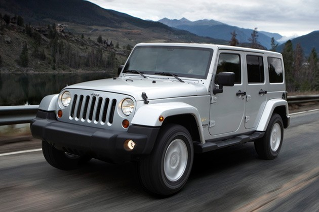 2011 Jeep Wrangler (UK)