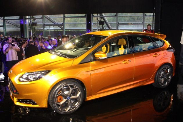 2012 Ford Focus ST live debut