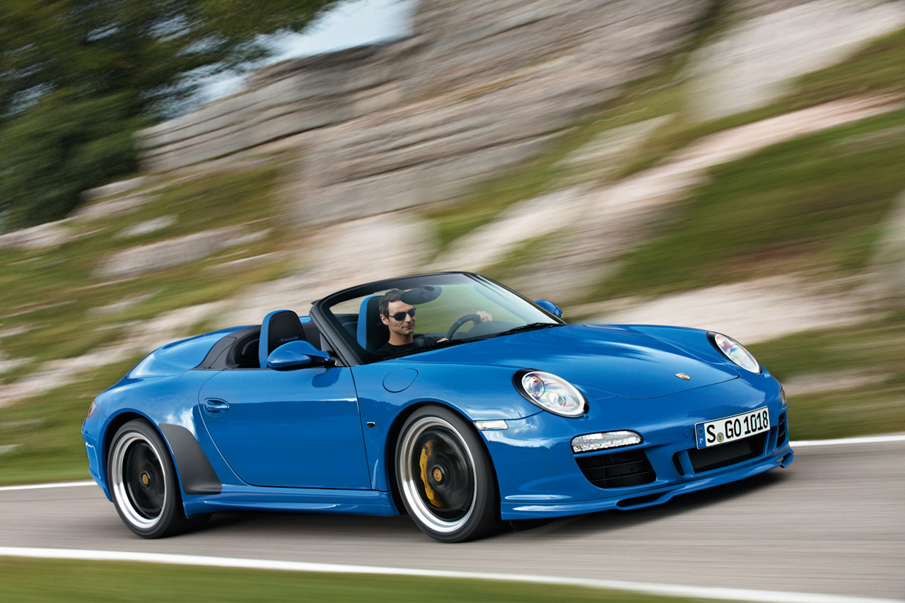 Porsche Planning New 911 Speedster As 550 Tribute Autoblog