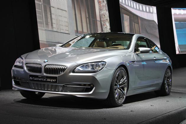 2011 BMW 6 Series Coupe Concept in Paris