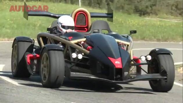 Ariel Atom V8 reviewed by Autocar