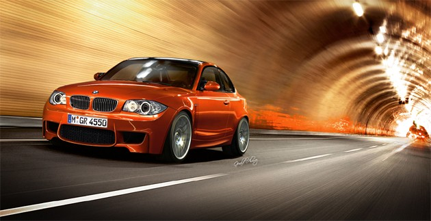 BMW 1 Series M Edition rendering