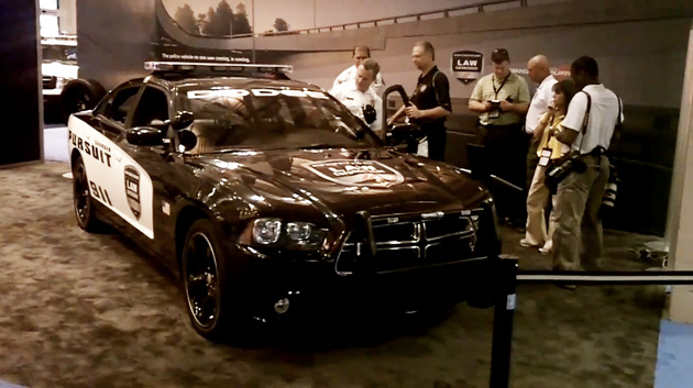 Dodge Charger police pursuit vehicle revealed