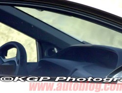 2012 Honda Civic interior spy shot