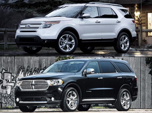 Ford Explorer vs. Dodge Durango
