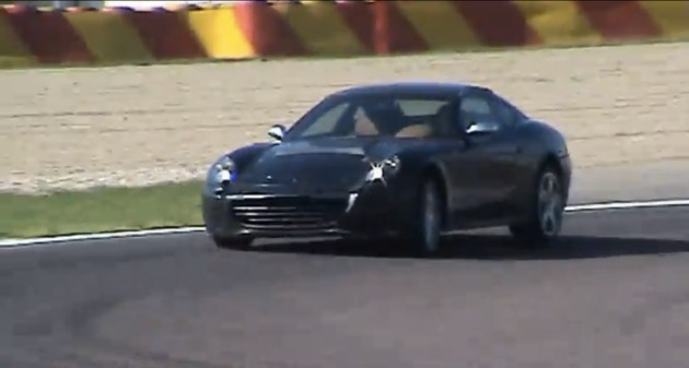 Ferrari 612 spy video