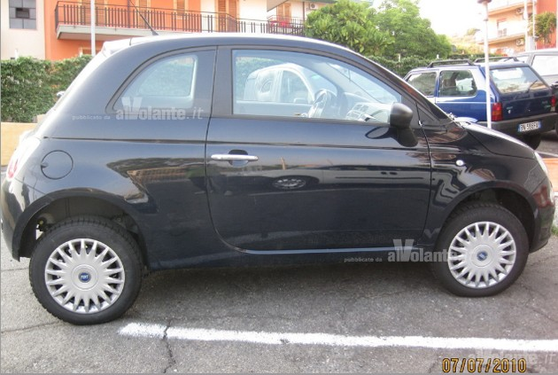 Fiat 500 all-wheel drive prototype