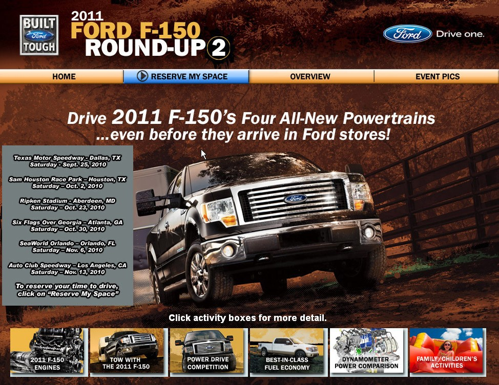 Test drive the 2011 Ford EcoBoost F-150