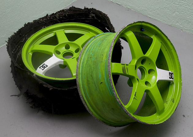 Ken Block's gymkhana Volk wheels