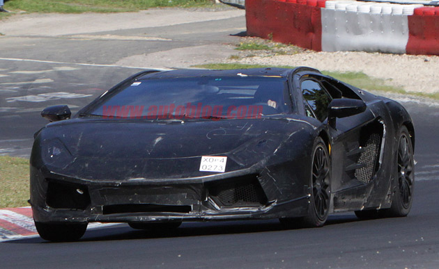 2012 Lamborghini Jota spy shots