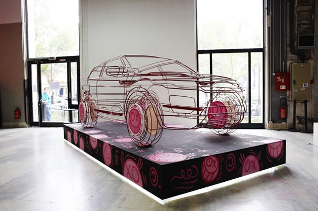 Land Rover Range Rover Evoque art