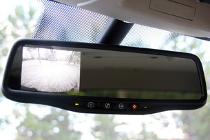2011 GMC Sierra 3500HD SLE rear view mirror