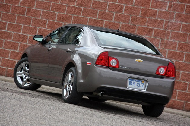 2010 Chevrolet Malibu, rear view