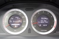 2011 Volvo S60 gauges