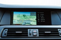 2011 BMW 550i navigation system
