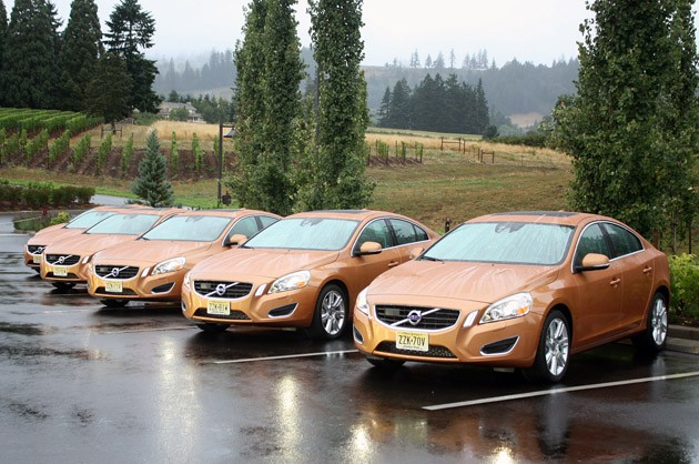 2011 Volvo S60 group photo