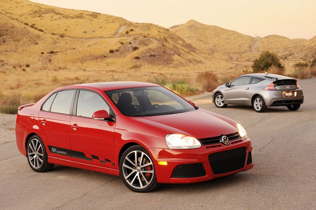 2011 Honda CR-Z vs. 2010 Volkswagen Jetta TDI Street Cup Edition