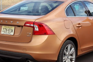 2011 Volvo S60 rear detail