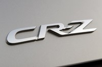 2011 Honda CR-Z badge