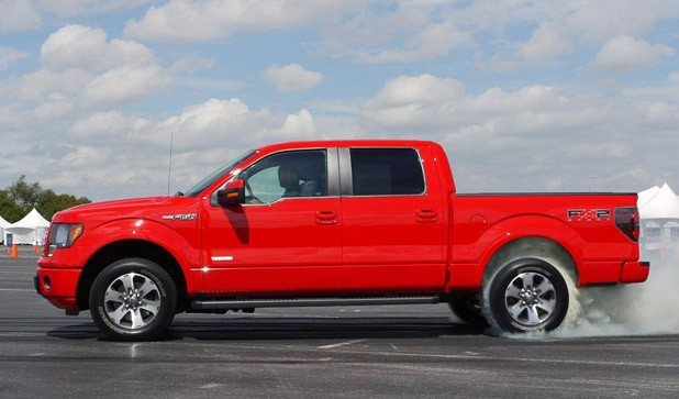 2011 Ford F-150 side view