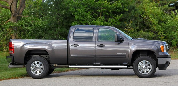2011 GMC Sierra 3500HD SLE side view