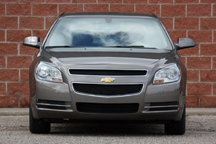 2010 Chevrolet Malibu, head on
