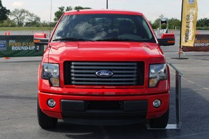 2011 Ford F-150 front view