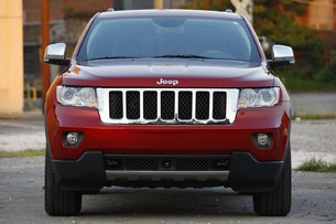 2011 Jeep Grand Cherokee head on