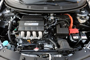 2011 Honda CR-Z engine