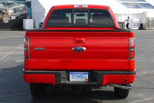 2011 Ford F-150 rear view