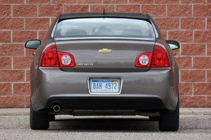 2010 Chevrolet Malibu, rear on