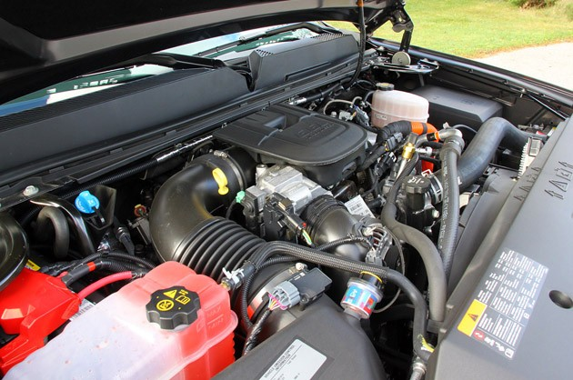 2011 GMC Sierra 3500HD SLE engine