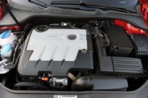 2010 Volkswagen Jetta TDI Street Cup Edition engine
