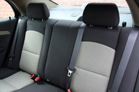 2010 Chevrolet Malibu, back seat