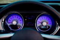 2011 Ford Mustang GT Convertible gauges