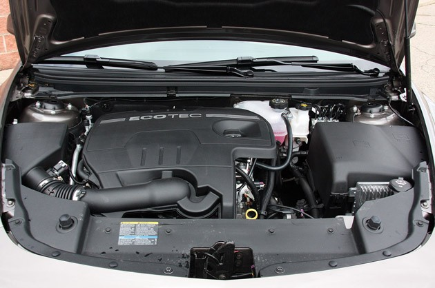 2010 Chevrolet Malibu, EcoTec engine