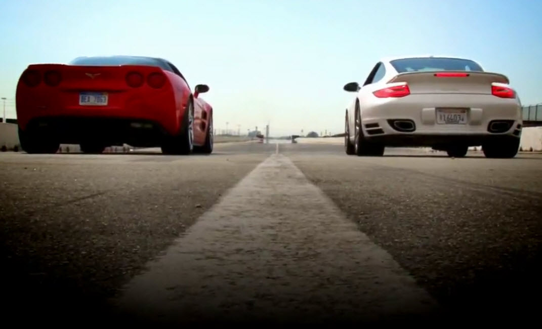 Motor Trend pits Chevrolet Corvette ZR1 against the Porsche 911 Turbo