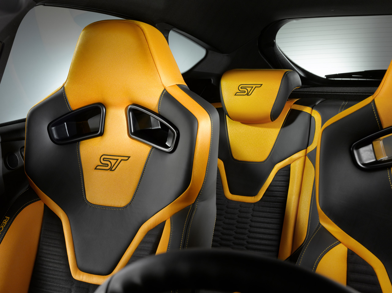 2012 Ford Focus ST interior