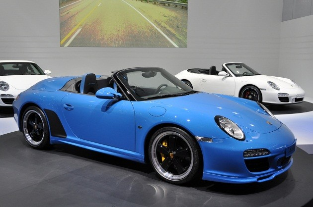 Porsche 911 Speedster live photos