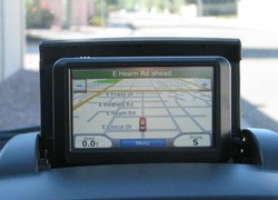 Suzuki SX4 with Garmin navigation