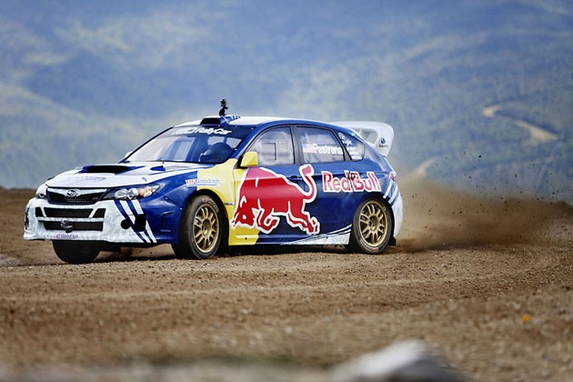 Travis Pastrana breaks the Mt. Washington Auto Road record