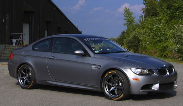 Turner Motorsports Frozen Gray BMW M3