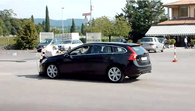 Volvo V60 Pedestrian Detection failure