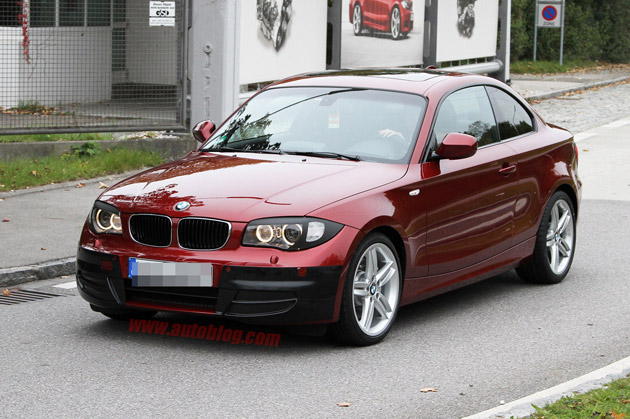 2011 BMW 1-Series Spy Shots