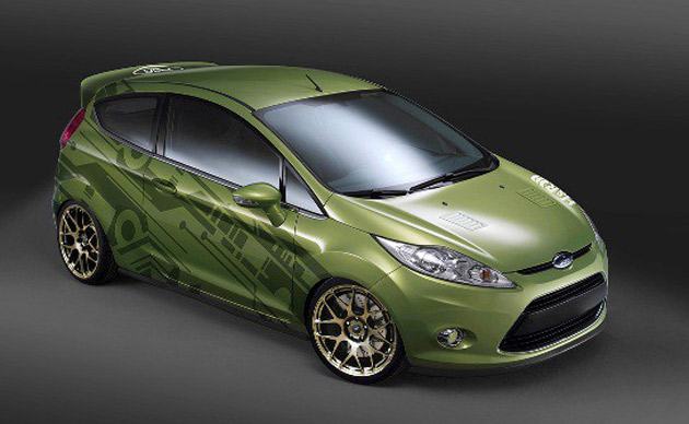 2011 Ford Fiesta SEMA preview
