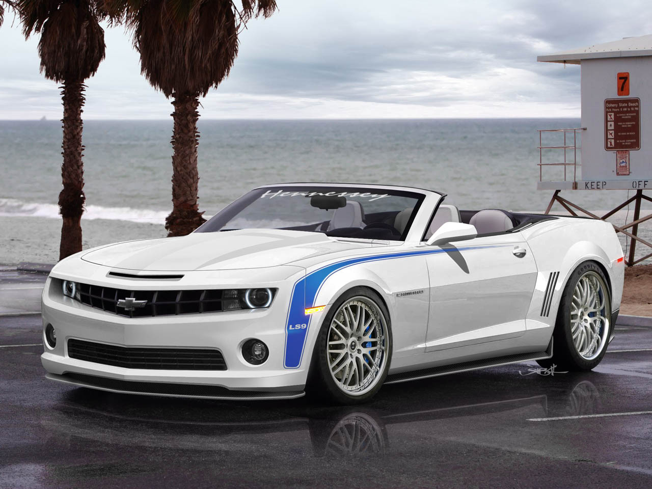 2011 Hennessey HPE700 Camaro Convertible – Click above for high-res