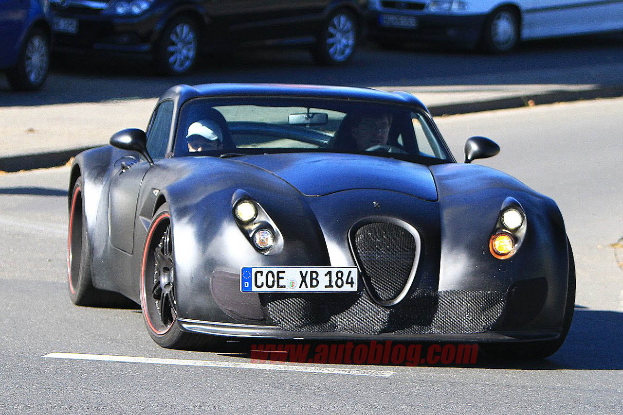 Wiesmann Coupe prototype spy shots