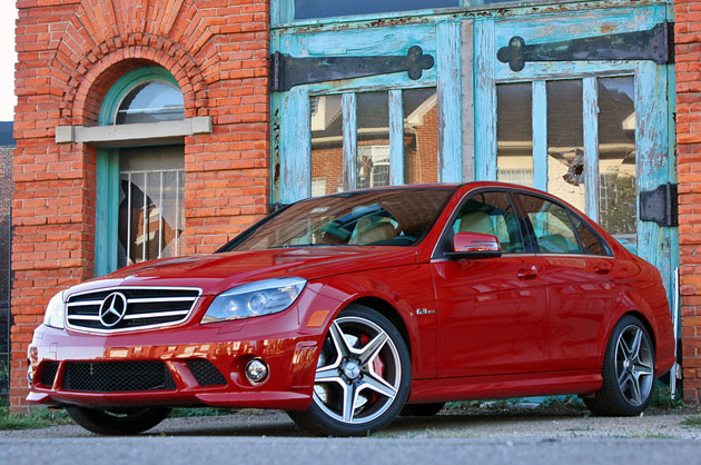 2010 Mercedes-Benz C63 AMG P31 Development Package