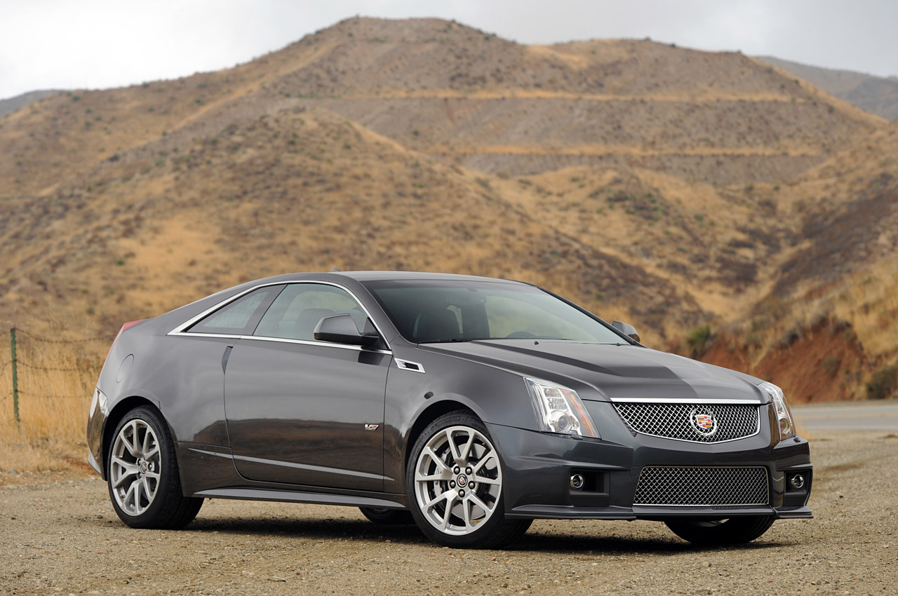 2011 cadillac cts v coupe review photo gallery autos weblog. Black Bedroom Furniture Sets. Home Design Ideas